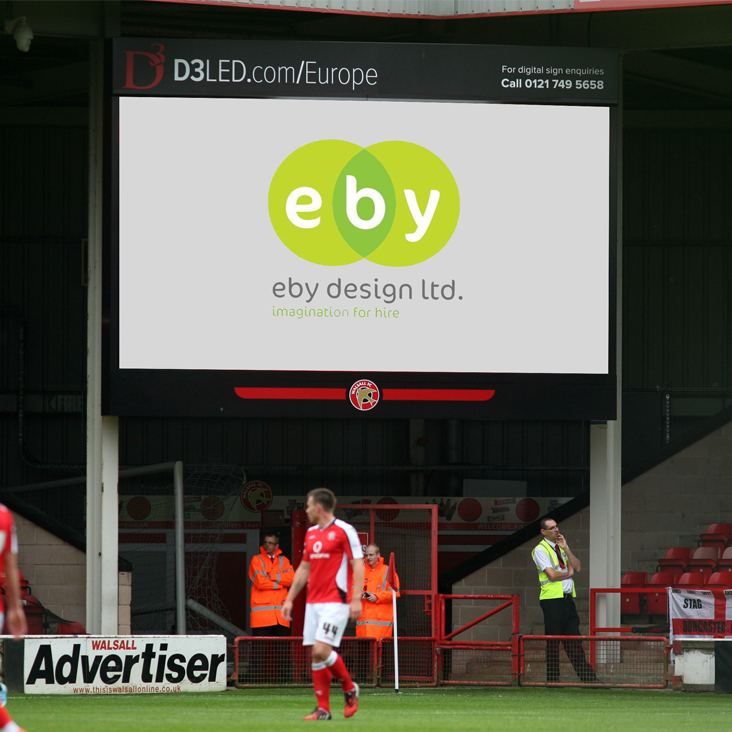 EBY Design and Walsall FC create business partnership