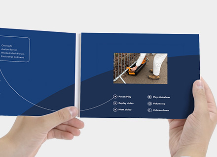 Oxford Plastics – Video Brochures
